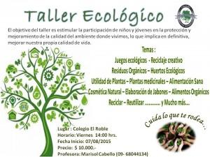Taller ecológico